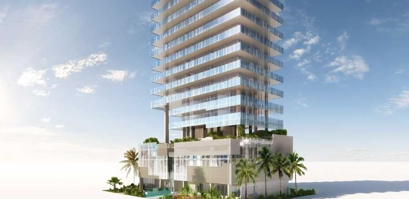 The glass 120 ocean condo miami