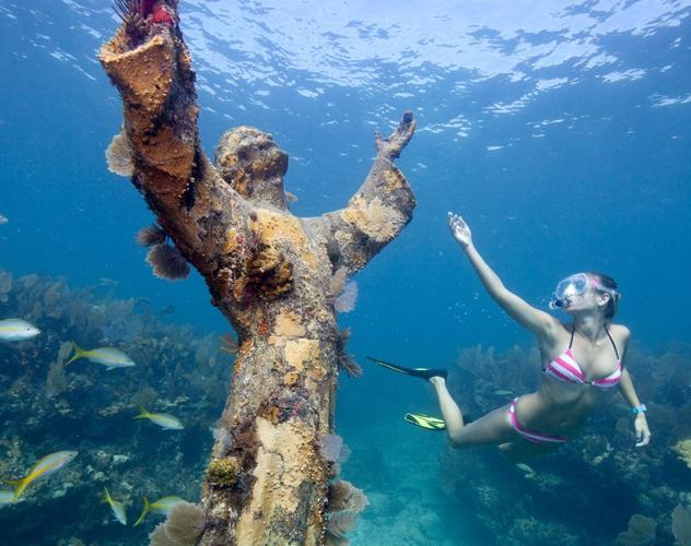 Plonger sous marine en Floride