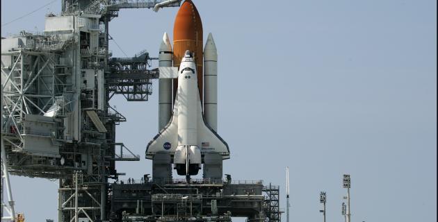 Lancement de la fusée en loride